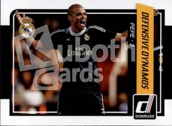 Fus 2015-16 Donruss Defensive Dynamos - No 8 - Pepe