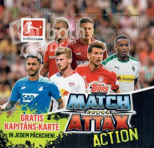 Fussball 2018-19 Topps Match Attax Action
