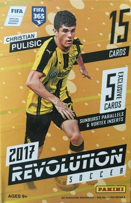 Fussball 2017 Panini Revolution Hanger Box