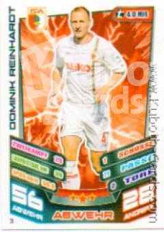 Fussball 2013-14 Topps Match Attax - No 3 - Dominik Reinhardt
