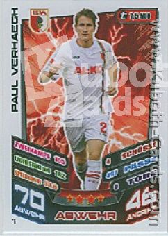 Fussball 2013-14 Topps Match Attax - No 7 - Paul Verhaegh