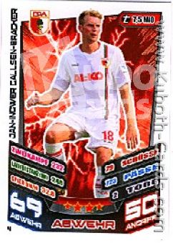 Fussball 2013-14 Topps Match Attax - No 4 - Callsen-Bracker