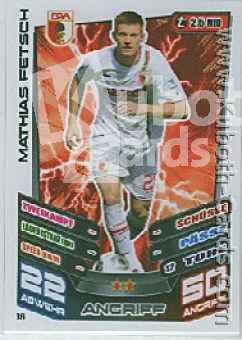 Fussball 2013-14 Topps Match Attax - No 16 - Mathias Fetsch