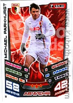 Fussball 2013-14 Topps Match Attax - No 8 - Michael Parkhurst