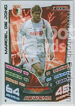 Fussball 2013-14 Topps Match Attax - No 5 - Marcel de Jong