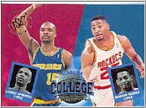 NBA 1994 / 95 Stadium Club - No 106 - Horry / Sprewell