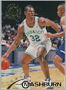 NBA 1994 / 95 Stadium Club - No 125 - Jamal Mashburn