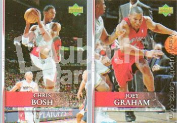 NBA 2007-08 Upper Deck First Edition - Toronto Raptors Set