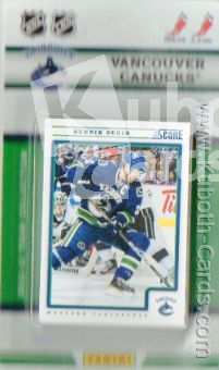 NHL 2012-13 Panini Score Team Collection Vancouver Canucks
