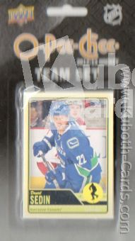 NHL 2012-13 O-Pee-Chee Team Set Vancouver Canucks