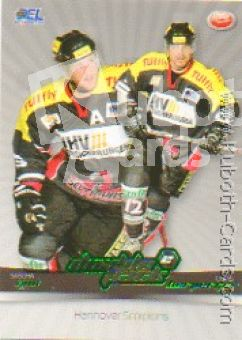 DEL 2007 / 08 CityPress Doublepack - No DP07 - Sascha Goc / Chris Herperger