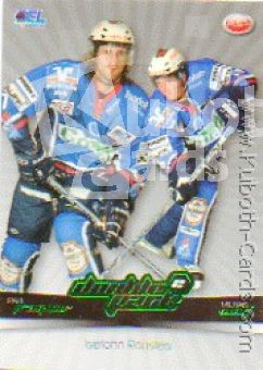 DEL 2007 / 08 CityPress Doublepack - No DP09 - Paul Traynor / Michael Wolf