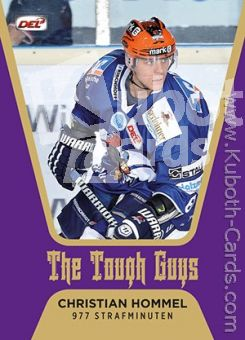 DEL 2013-14 CityPress The Tough Guys - No TG12 - Hommel
