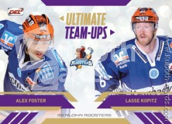 DEL 2013-14 CityPress Ultimate Team-Ups - No UT06