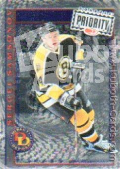 NHL 1997 / 98 Donruss Priority Direct Deposit - No 6 of 30