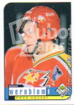 SHL 1998-99 Swedish UD Choice - No 174 - Magnus Wernblom
