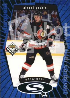 NHL 1998-99 UD Choice StarQuest Blue - No SQ10 - Yashin
