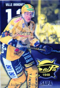 NHL 1999-00 Finnish Cardset - No 117 - Ville Immonen