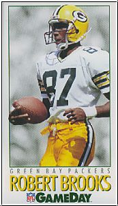 NFL 1992 Game Day - No 413 - Robert Brooks