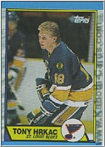 NHL 1989 / 90 Topps - No 64 - Tony Hrkac