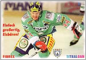 DEL 1997 / 98 Berlin Chemie - Chad Biafore