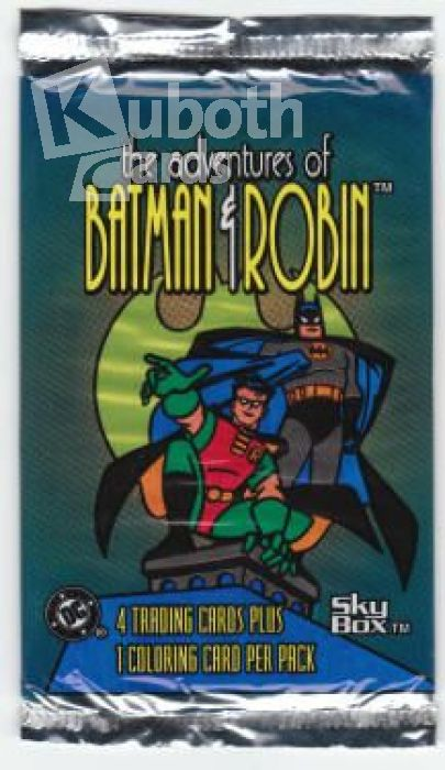 Batman & Robin 1995 Skybox The Adventures of Batman and Robin