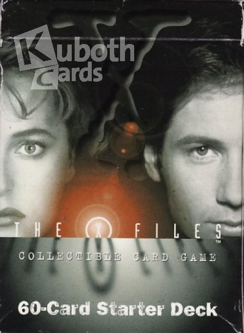 X Files 1996 The X Files Starter Deck