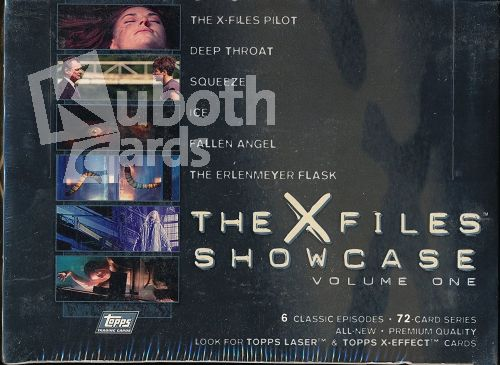X Files 1997 Topps The X-Files Showcase Volume One