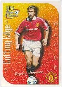 1999 futera England Manchester United - No CE6 - Ronny Johnson