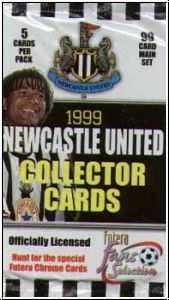 Fussball 1999 futera England Newcastle United