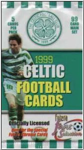 Fussball 1999 futera England Celtic Glasgow