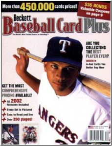 MLB Beckett Card Plus - Winter 2002