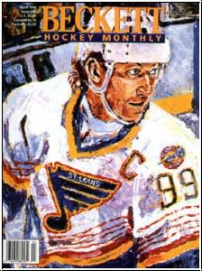 NHL Monthly Beckettzeitschrift - April 1996