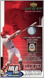 MLB 2000 Upper Deck MVP Hobby