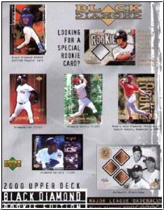 MLB 2000 Black Diamond Rookie Edition