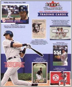 MLB 2001 Fleer Tradition