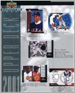 MLB 2001 Upper Deck MVP