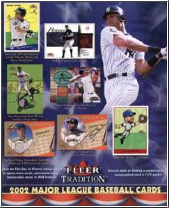 MLB 2002 Fleer Tradition