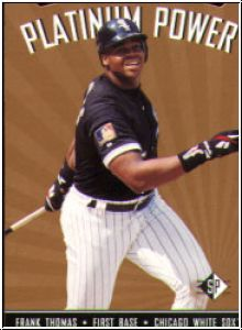 1995 SP - Platinum Power - No SP-18 - Frank Thomas