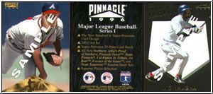 MLB 1996 Pinnacle - kpl. Promotional Card Set