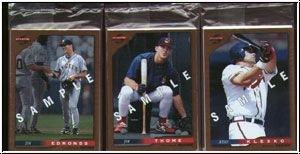 MLB 1996 Score - kpl. Promotional Card Set