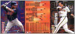 MLB 1996 Circa Access - No 30 of 30 - Matt Williams