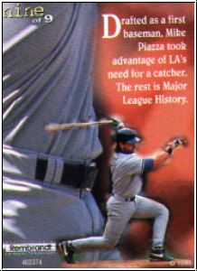 MLB 1996 Ultra Pro - No nine of nine - Mike Piazza