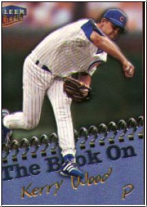 MLB 1999 Ultra The Book On - No 1 of 20 BO - Kerry Wood