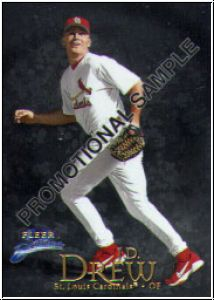 MLB 1999 Fleer Brilliants - No NNO - J.D. Drew