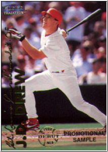 MLB 1999 Fleer Tradition - No P 7 - J.D.  Drew
