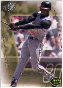 MLB 2001 SPx - No 001 - Ken Griffey jr.