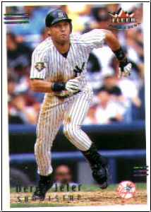 MBL 2002 Fleer Triple Crown - No 2 - Derek Jeter
