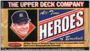 1994 Upper Deck - All-Time Heroes of Baseball