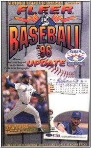 MLB 1996 Fleer Update - Box